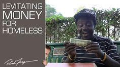 Levitating Money for Homeless