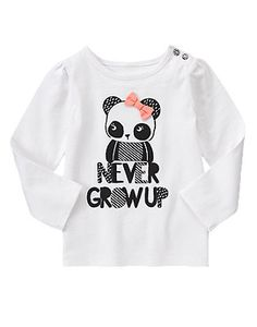 Never Grow Up Long Sleeve Tee