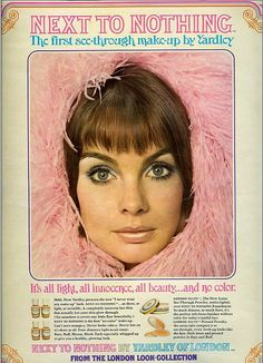 Jean Shrimpton. Next to nothing by sugarpie honeybunch, via Flickr.