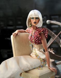 I wish Barbies had looked like this when I had them...so pretty