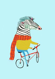 Zebra Illustration, Decor Logo, Creative Kids Snacks, Friends Laughing, Illustrations And Posters, Whimsical Art, Zebras, Art For Kids, Wall Art Prints