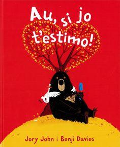 Títol: Au, si jo t'estimo. Autor: JOHN, Jory. Editorial: Andana. Resum: Dir que testimo no sempre és fàcil. I això ho saben els protagonistes d'aquest llibre.  L'Ós i l'Ànec, que ja vam conèixer al llibre Au, bona nit!, tornen a oferir-nos una situació ben divertida on pares. mares, fills i filles es trobaran identificats. Snoopy, Album, Christmas Ornaments, Holiday Decor, Children Books, Poster, Children's Literature, Short Stories, Home