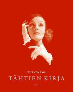 Title: Tähtien kirja   Author: Peter von Bagh   Designer: Timo Numminen Author, Cover, Books, Movie Posters, Design, Red, Historia, Libros, Film Poster