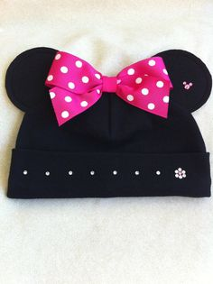 Girls Custom Boutique Minnie Inspired Hat Woman by solcreator