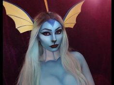 Humanoid Vaporeon   Pokemon Makeup Tutorial - https://www.avon.com/?repid=16581277 Shop Now  Inspired by @torimichellemua Instagram: @ayajade Products Used: FX Cosplay Under The Sea Palette Snazaroo Water Activated Paint in White Mehron Paradise Paints Black ELF Gel Liner in Black W7 Cosmetics Mascara BH Cosmetics Modern Mattes Eyeshadow Palette Music provided by NoCopyrightSounds Uplink – To Myself https://www.youtube.com/watch?v=fugQAnzL1uk Konac – Home https://