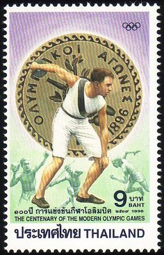 Stamp from Thailand | Atlanta 1996, Olympic Games