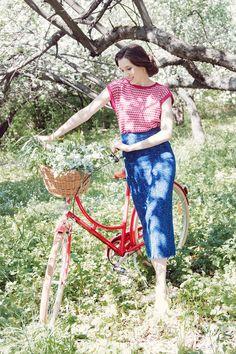 На фото вещи из коллекции Ulyana Lineva