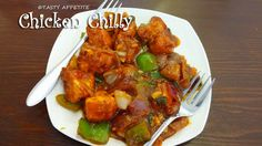 Tasty Appetite: Spicy Chilly Chicken / Restaurant Style Chilly Chi...