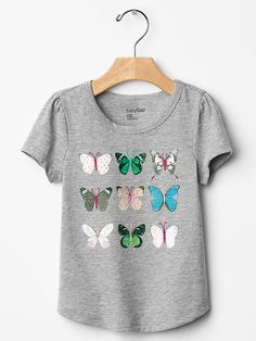 Embroidered graphic tee Product Image