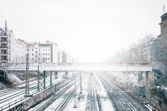 Sonntag, 17.01., 14.15 Uhr – Prenzlauer Berg, Kopenhagener Straße: Alles weiß. © Borkeberlin