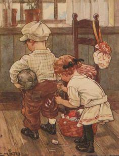 1920 illus. by C.M. Burd - 'A Stitch In Time Saves Nine' | eBay