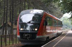MÁV Desiro by Siemens 6342 010-3 at Badacsony stop: Photo: Christian Alberts #MÁV #Hungary #Siemens #Desiro