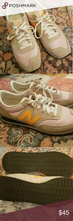 J Crew new balance RePosh! Hard to find pink, green, orange and beige new balance from J Crew. I've been looking for this particular pair of shoes, in my size, for a while. They are well made and very stylish, so I guess not a lot of people want to resell them once they get their hands on them. Unfortunately, I misjudged the size of my foot. These are a size 9, and if they were a half a size larger, my life would be complete! Hopefully someone else will be able to Cinderella themselves into…