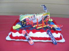 "Photo 1 of 11: Tony Hawk/SK8 / Birthday ""Skateboard-EXTREME SK8""   Catch My Party"