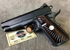 Wilson Combat Stealth 9mm superbly optioned and beautiful carry pistol just arrived at Victory Gun & Guitar Works!
