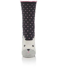 Accessorize - Dermot Dog Face Socks, 5,50€