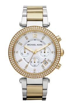 Michael Kors 'Parker' Chronograph Bracelet Watch available at #Nordstrom