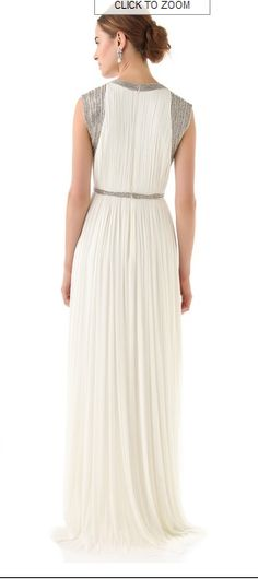 Mercia Embellished Long Gown by Catherine Deane