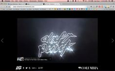 Daft Punk - Random Access Memories site
