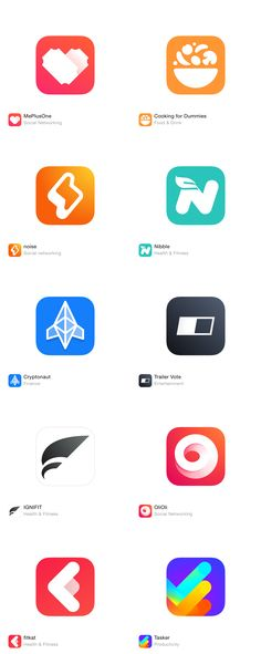 Dating app icons #14