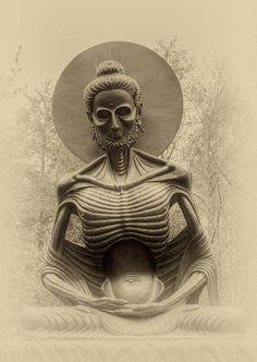 Buddha Tattoo Design, Shiva Tattoo Design, Buddha Zen, Gautama Buddha, Buddhist Teachings, Buddhist Art, Gautam Buddha Image, Budha Art, Buddha Sculpture