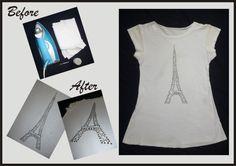DIY Customizando camiseta básica