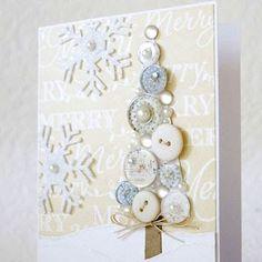 DIY:: Button Christmas Tree