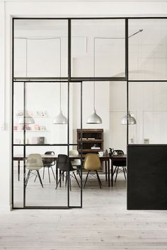 Steel Window Design specialise in the design and manufacture of steel windows and steel doors for all sectors of the. Steel Windows, Windows And Doors, Huge Windows, Black Windows, Modern Windows, Iron Windows, Panel Doors, Interior Exterior, Interior Architecture