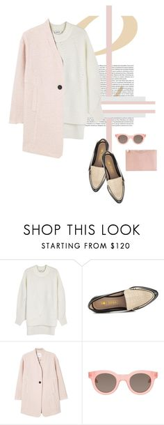"""Untitled #2078"" by katerina-rampota ❤ liked on Polyvore featuring DKNY, Sol Sana, MANGO, Sun Buddies and Givenchy"