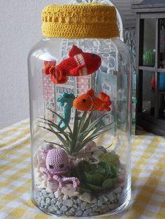 Amigurumi aquarium More