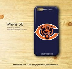Chicago Bears NFL American Football Team Logo iPhone 5c Case | Dalmanaz - Accessories on ArtFire