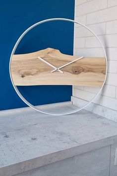 Modern clocks will look stylish hanging on your wall, perfect wall decoration for any room in your farmhouse kitchen room, rustic, country design conceptions. #clocksforwall #farmhousewallclock #farmhousewalldecor #kitchenwallclock #bigclock #decorativeclock #farmhouseclock #kitchenclock #largewallclock #liveedgeclock #minimalistclock #modernwallclock #modernwoodclock #roundwallclock #rusticwoodclock #silentwallclock #uniquewallclock #uniquewallclocks #woodwallclock #woodenclock #woodenwallclock White Wall Clocks, Rustic Wall Clocks, Kitchen Wall Clocks, Unique Wall Clocks, Wood Clocks, Farmhouse Clocks, Farmhouse Wall Decor, Minimalist Clocks, Minimalist Decor