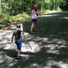 Must have walking sticks.   #lindsayfalls #explorenb #goexplore