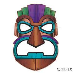 Tiki Masks - OrientalTrading.com