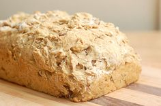 Pumpkin spice beer bread made with pumpkin ale. Sounds like a yummy variation of my usual beer bread. Pumpkin Beer, Pumpkin Spice, Owl Pumpkin, Biscuits, Cooking Bread, Beer Bread, Tasty, Yummy Food, Pumpkin Recipes