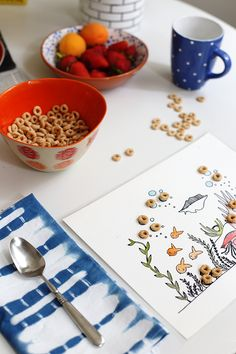 printable cheerios placemats