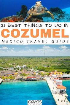 Planning a vacation to Cozumel, and looking for the best things to do in this beautiful Mexico destination? We've got plenty of tips and ideas for activities. Whether you want to explore the beautiful beaches, visit some mayan sites, explore by submarine and more, we've got ideas for your itinerary. | #visitmexico #wanderlust #traveltips