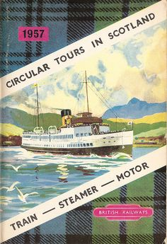 plaid // Circular Tours in Scotland by Train, steamer and road - 1957