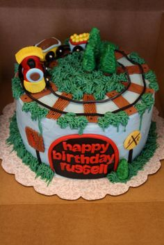 Antique train cake | Vintage 1950s Wooden Toy Train Birthday Cake Candle Holder