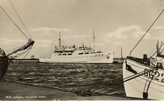 M/S JYLLAND (1943) Outdoor Furniture, Outdoor Decor, Sailing Ships, Norway, Boat, Olsen, Travel, Dinghy, Boats