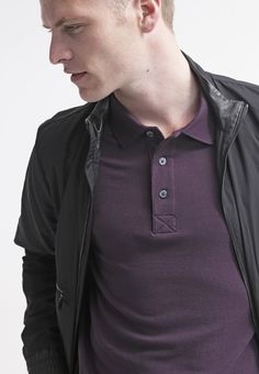 Lyle & Scott - Piké - deep plum