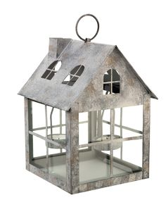 Give your candles a place to live with this tealight house. Priced at Candle Lanterns, Candles, Sainsburys Home, Autumn Home, Autumn Style, Bird Houses, My Dream Home, Rustic Decor, Tea Lights