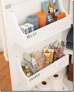 I need to do this in my bathroom and organize.