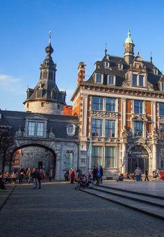 Belfry of Namur, Belgium.