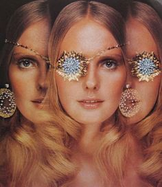 Grace Coddington, Vogue (1971) Jewelry by John Donald