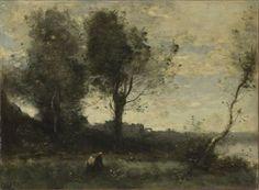 Jean-Baptiste-Camille Corot: The Wood Gatherer, 1965-70