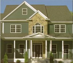 Siding and shutter color combinations shutters vents for Vinyl siding and shutter color combinations