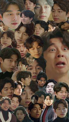 Funny face gong yoo, still handsome Kdrama Memes, Kpop Memes, Asian Actors, Korean Actors, Korean Guys, Park Hyun Sik, Goblin The Lonely And Great God, Goblin Gong Yoo, Yoo Gong