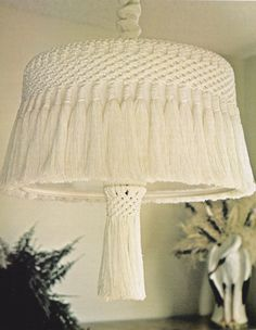 Make 10 gorgeous macrame home decors with this vintage 1977, macrame craft patterns book. You'll get instructions to make the following macrame p