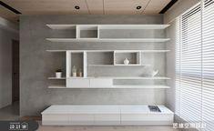 思維空間設計有限公司 現代風設計圖片思維_37之12-設計家 Searchome Storage Shelves, Shelving, Bookcases, Small Apartments, Display, Cabinet, Living Room, Home Decor, Bedroom